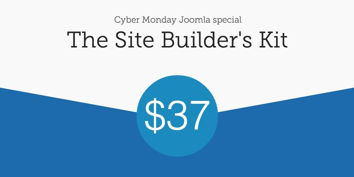 Joomla cyber monday special