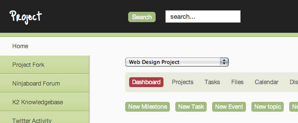 A projectfork theme and admin template for March | Joomlabamboo Blog
