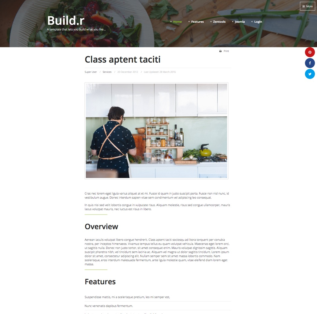 Meet Build.r - Our make what you want Joomla Template ...