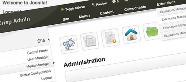 New Joomla Admin Theme For January Joomlabamboo Blog