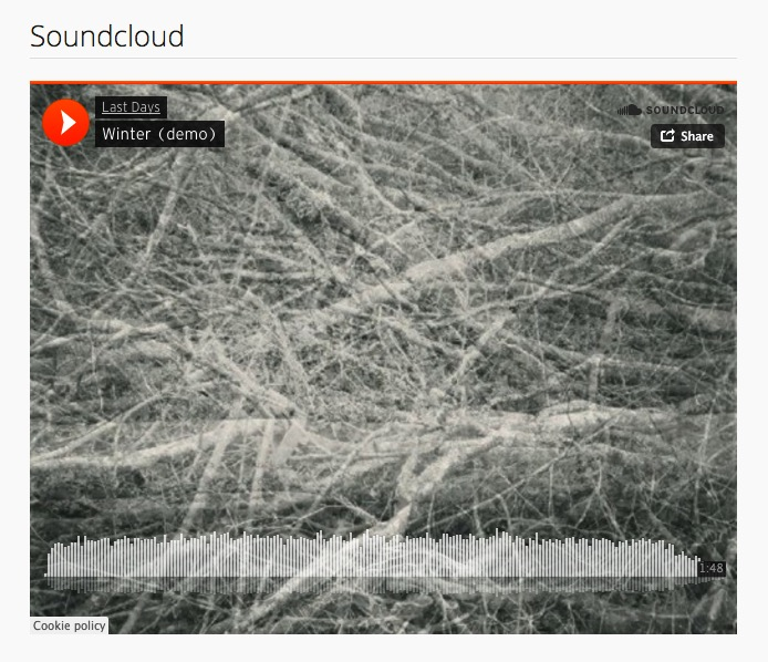 Soundcloud Embedded