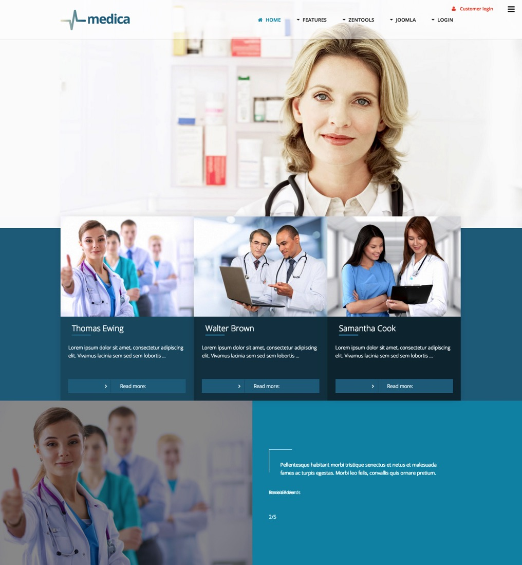 Medica-template-screenshot
