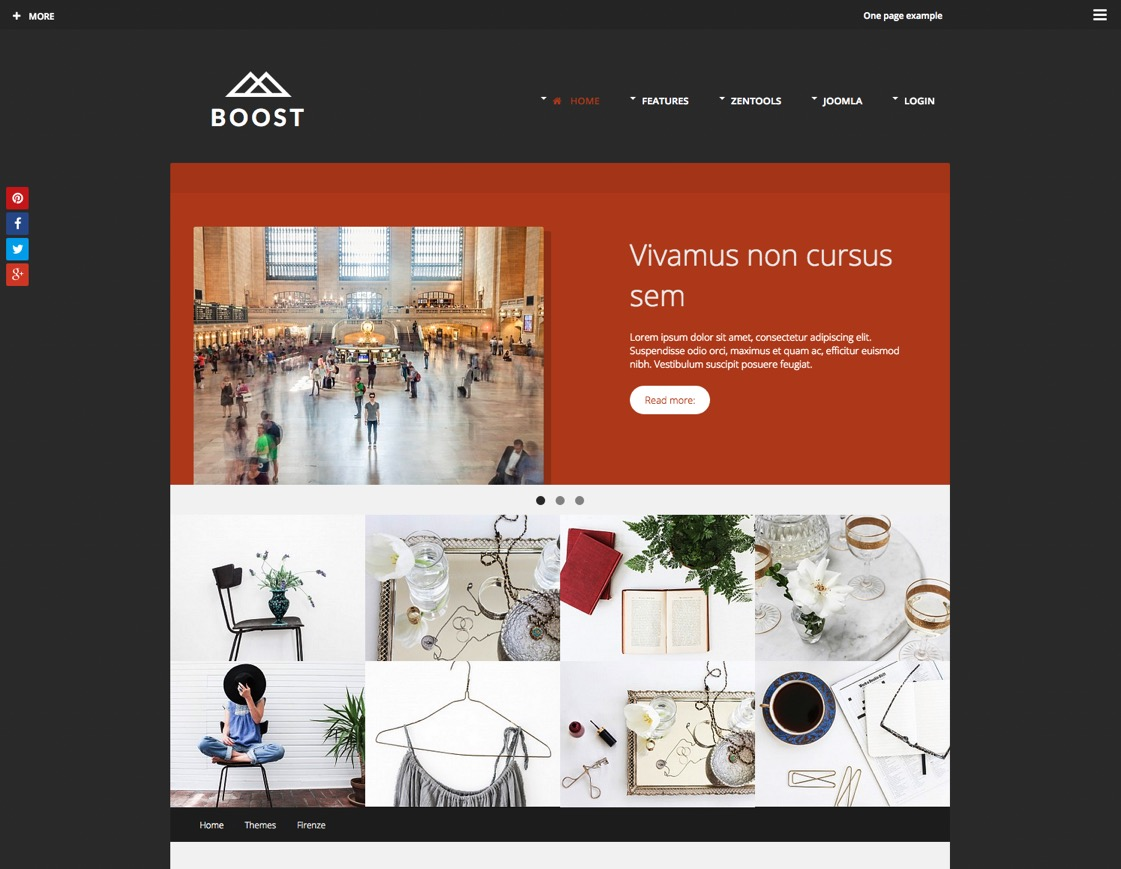 Boost Joomla Template