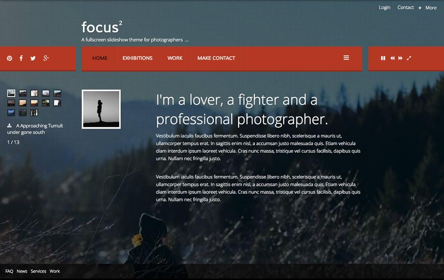 JB focus2 Template