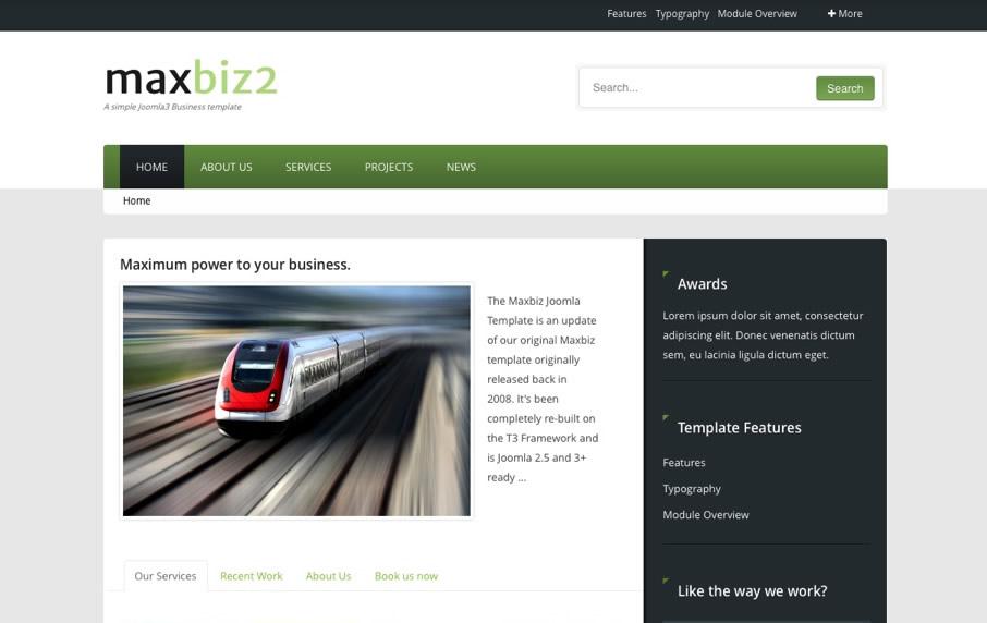 Joomla Business Templates | Corporate Joomla Templates | Joomlabamboo