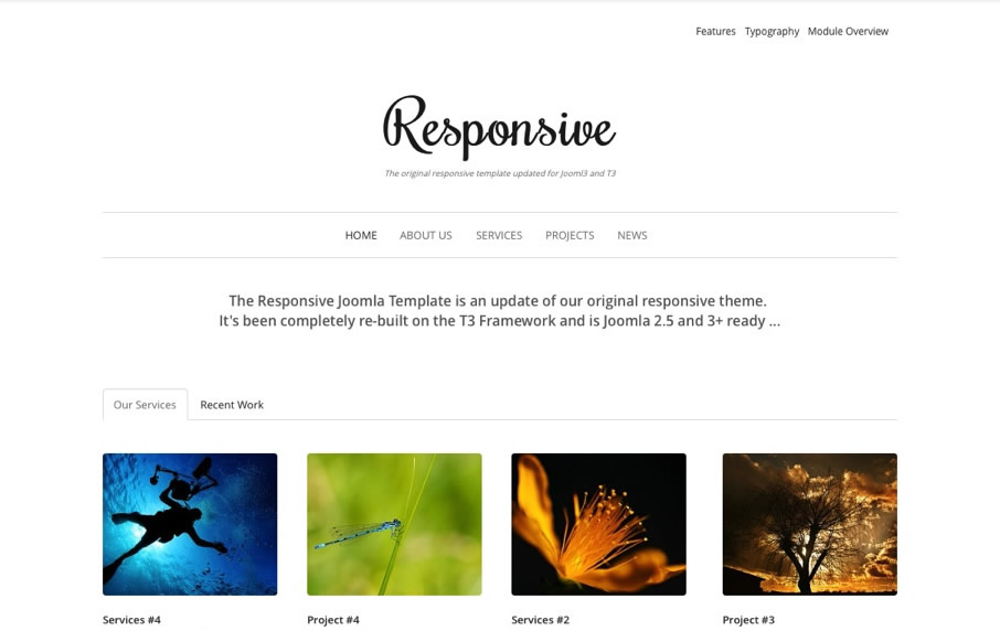 Simple Joomla Templates | Professional Joomla Templates | Joomlabamboo