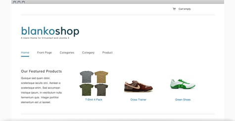 Blankoshop Template