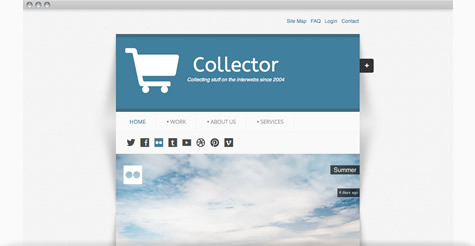 Collector Joomla Template