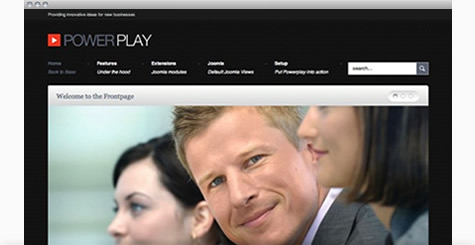 Powerplay - Powerful Business Joomla template