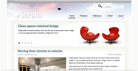Strata - Clean Business Joomla Template
