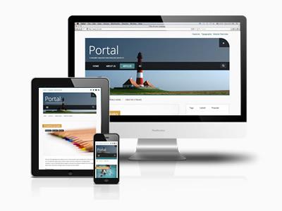 Portal responsive